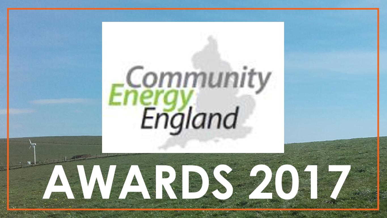 Community Energy England Awards 2017 BHESCo