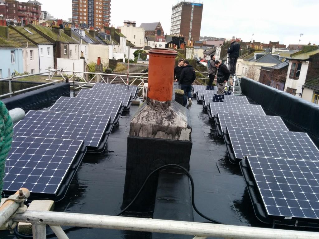BHESCo Netfuse Rooftop Solar Panels