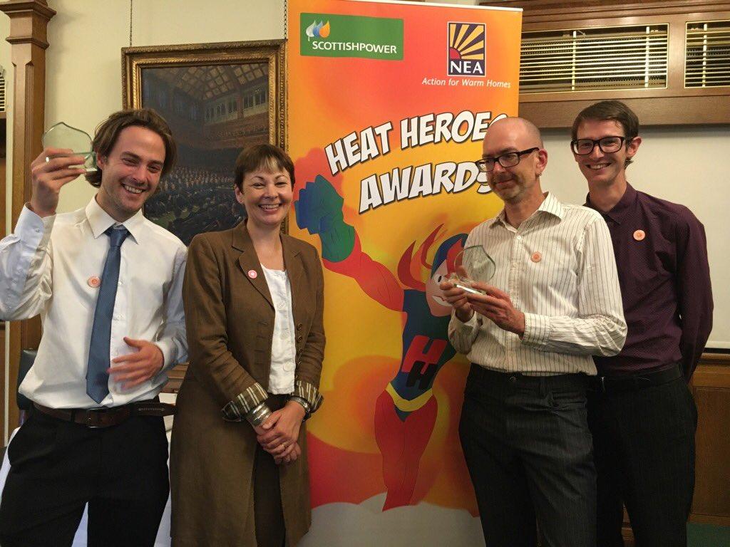 NEA Heat Heroes Awards