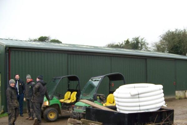 BHESCo Project - Dyke Golf Club Equipment Shed