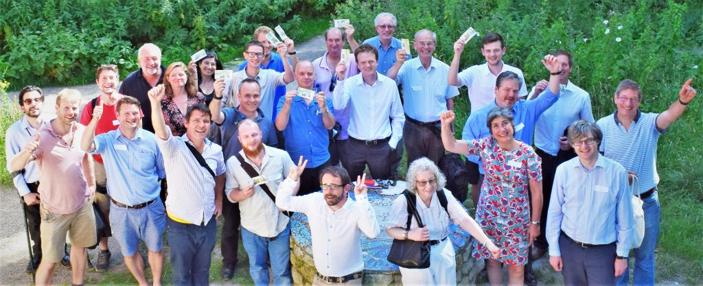 Community Energy South Celebrate Lewes Pound