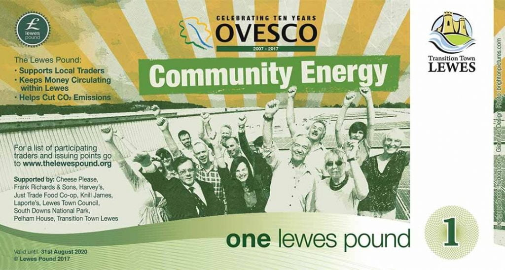 Keep It Local - Lewes Pound Ovesco